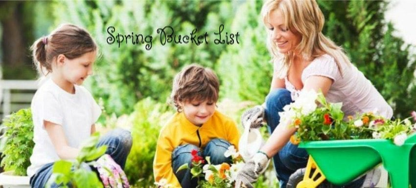 spring bucket list, spring bucket, kids spring bucket, mother's day boutique, school holiday shop