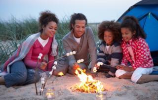 family campfire, campfire fun, kids campfire, summer break