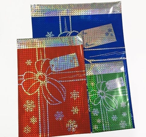 mylar gift bags