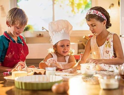 Cooking with kids for the holidays